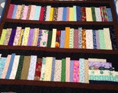 "5 shelf Bookcase quilt, library quilt, book lovers quilt, wall hanging, lap quilt, 39.5""x54"""