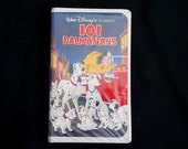101 DALMATIONS Disney VHS (1992) Clamshell Case Walt Disney Classic 1263 (Audio/Video Like-New Condition) Completely Screened (MR1)