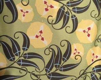 Passion Vine Nigella - Amy Butler Floral Twill Fabric
