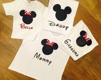 Personaized disney t shirts