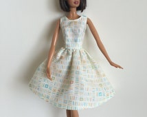 Handmade Barbie Doll Clothes 11.5 Fashion Dress Designs by P D Reneau