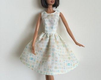 Handmade Barbie Doll Clothes 11.5 Fashion Dress Designs by P D Reneau (Q1103)