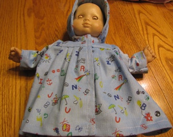 Corduroy Coat and Hat for the Bitty Baby - 15 inch doll