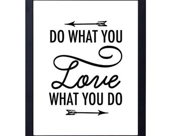 instant download- do what you love art print