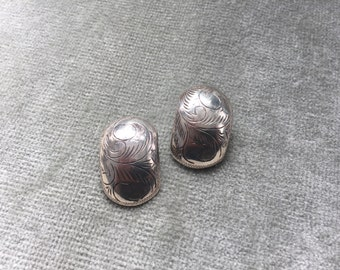 Thai Silver Clip-On Earrings