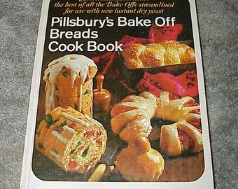 1968--Pillsbury's--BREAD--Bake Off--Cookbook--RECIPES--HC--Illustrated--Contest Winning Recipes
