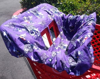 Nightmare Before Christmas - Shopping Cart Cover