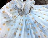 REDUCED BEAUTIFUL PRINCESS dress  for a girl, hand made and exquisite ... not a costume, but a real dress Was 30.00