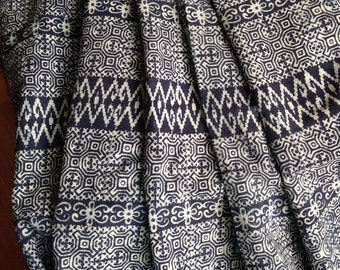 Hmong Fabric, Hmong textile, Black, White, Lisu Fabric, hmong fabric, hill tribe, quilted, embroidered, sewn, craft, fabric for crafting