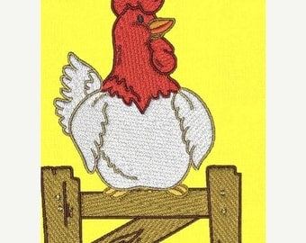 SALE 65% off Chicken Rooster Farm Machine Embroidery Designs - Set of 10 Instant Download Sale