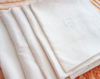 European Linen Sham, Euro Sham, Monogrammed Sham, Euro Pillowcase, Linen Pillow Shams