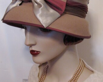 Lady Sybil Cloche with French Bow