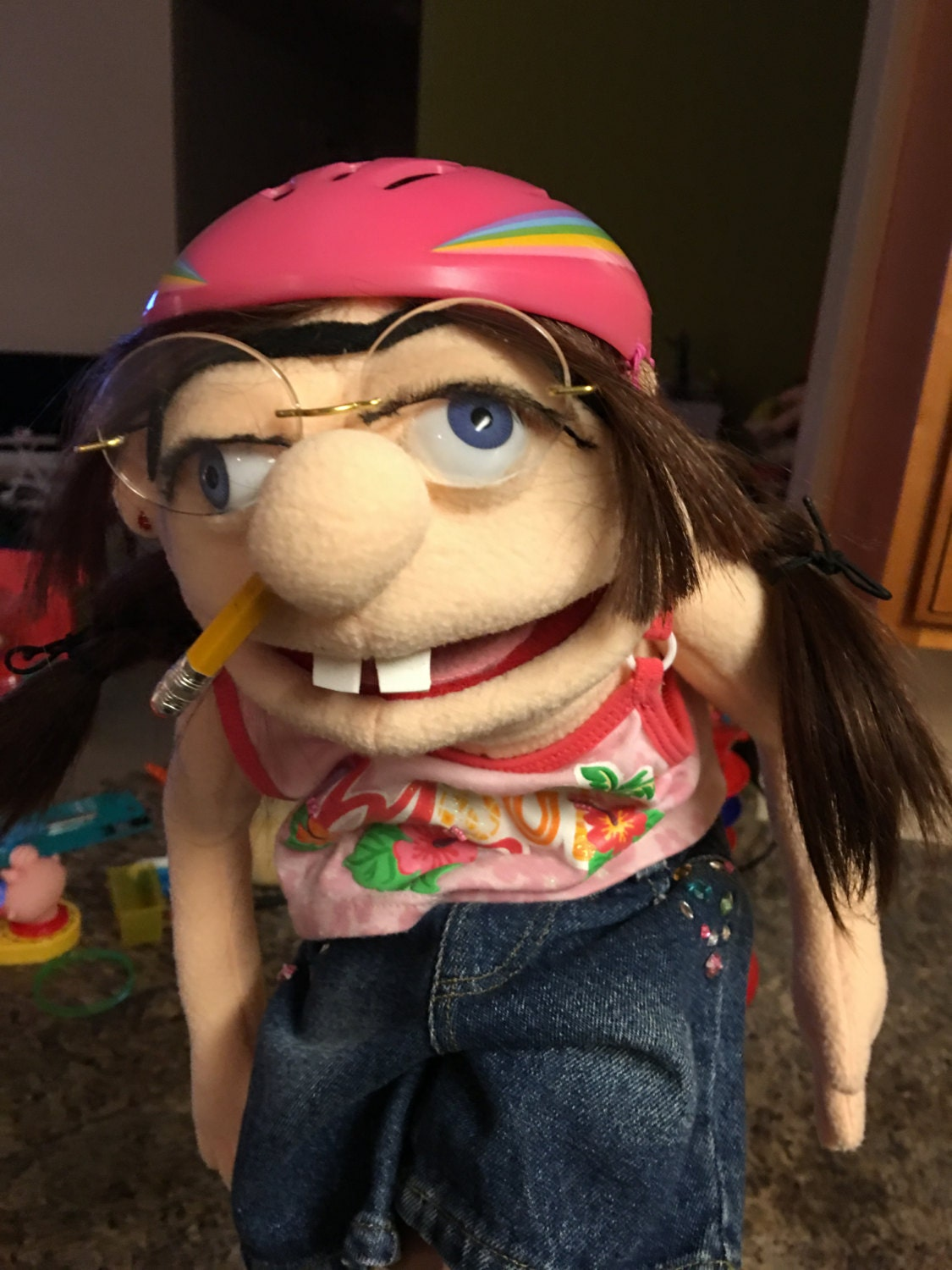 Look Alike Jeffy S Sister Puppet From Sml Youtube By Evelinka