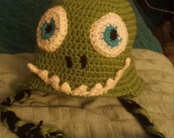 Toddler size Dinosaur hat