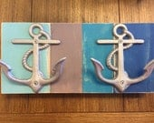 anchor towel hooks sailor boat cabin lake cottage beach house dreams outdoor shower pool hot tub towels jewelry organizer nautical