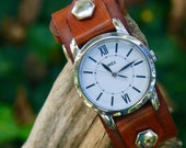 Timex Uptown Watch with Hand-Crafted Leather Watch Band