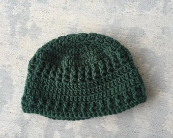 Beanie Pine Green Hat Unisex texture Acrylic Winter Fall Accessory