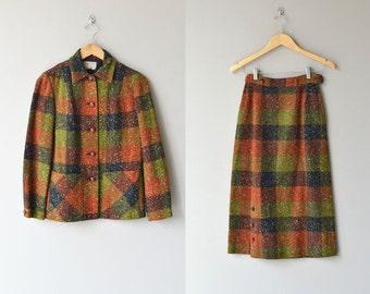 Ballymaloe tweed suit | vintage 1950s suit | 50s wool suit