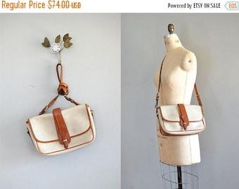 25% OFF SALE Dooney & Bourke bag   pebbled leather purse   two tone leather saddle bag