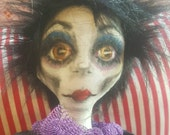 Monique the Handmade Halloween Doll