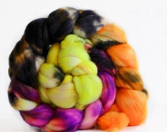 Rave 4 oz Merino softest 19.5 micron Roving Top for spinning
