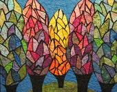 Garden of Light Art Quilt