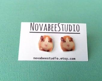 Guinea Pig Stud Earrings