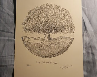 Love Yourself Tree 6/100 from series.