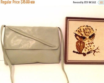 50% off storewide SALE vintage handbag CLUTCH // soft slouch  // crossbody purse