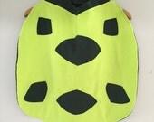 Neon Turtle Cape, Kids Halloween Costume, Dress Up Cape, Turtle Costume, Ready to Ship