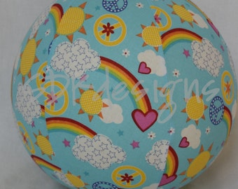 Rainbow Bright Hearts and Clouds - Great TOY or birthday gift - as seen with Michelle Obama on Parenting.com