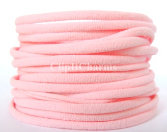 Wholesale .39+PINK Nylon Chokers...Use for bottle cap jewelry,pendants,charms, headbands/doubles as a bracelet or anklet....