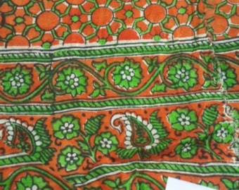 second-hand silk sari sections- Z 11,12