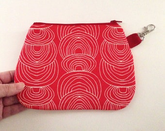 Zip Wallet Pouch - Ripples