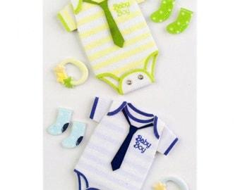Little B Baby Boy Medium 3D Stickers