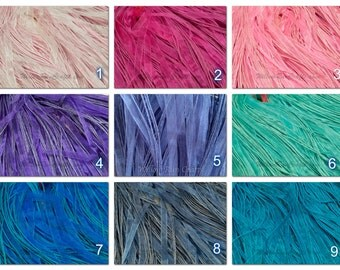 """30 Organza Ribbon Cord Necklaces 18"""" length, You pick your colors."""
