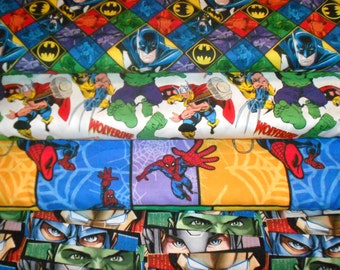 SUPER HEROS #11  Fabrics, Sold INDIVIDUALLY not as a group, by the Half Yard