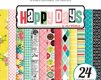 Echo Park 6x6 Paper Pad - Happy Days