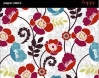 SEi 6x6 Paper Pad - Poppy