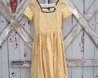 Edelweiss - vintage 1940s dress