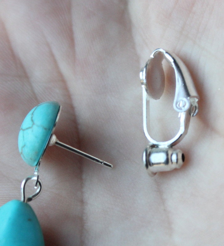clip on earring converter studs to clip on earrings changer