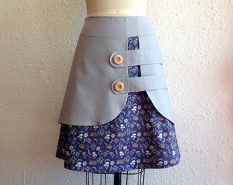 Blanche double layer skirt Sz 4