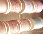 Pastel Spools Photo