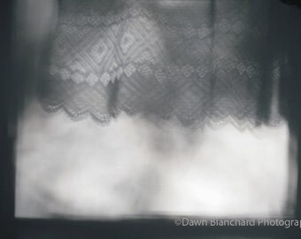 Black and White Digital Download Photography - Shadows in the Morning - Interior Design Surreal Photo in JPEG and PDF Formats