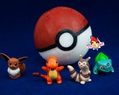Pokeball Soap with Toy Inside, Genuine Vintage Figure