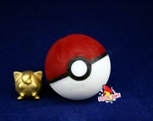 Pokeball Soap with Polished Gold Steel Jigglypuff Inside FREE Shipping in US