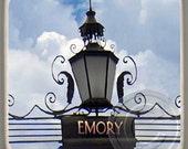 Emory University Lantern, Atlanta Marble Stone Coaster,Mix and Match With My Other Coasters To Make A Set..