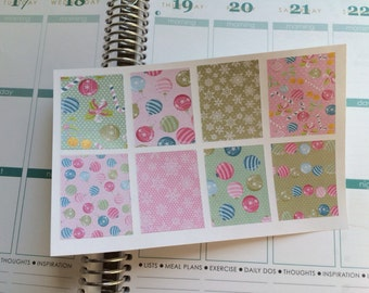 Christmas Stickers Full Boxes Stickers Perfect For Erin Condren Life Planner