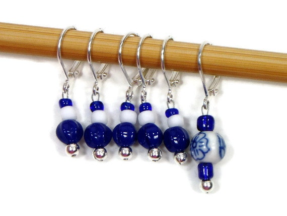 Locking Removable Stitch Markers Crochet Row Markers by TJBdesigns