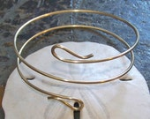 Armlet Armband - Double Paisley End Layered Arm Band Arm Torc - Upper Arm Jewelry - Made to Order in Copper - Brass - German Silver